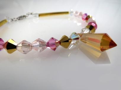 bracelet prisme rose5